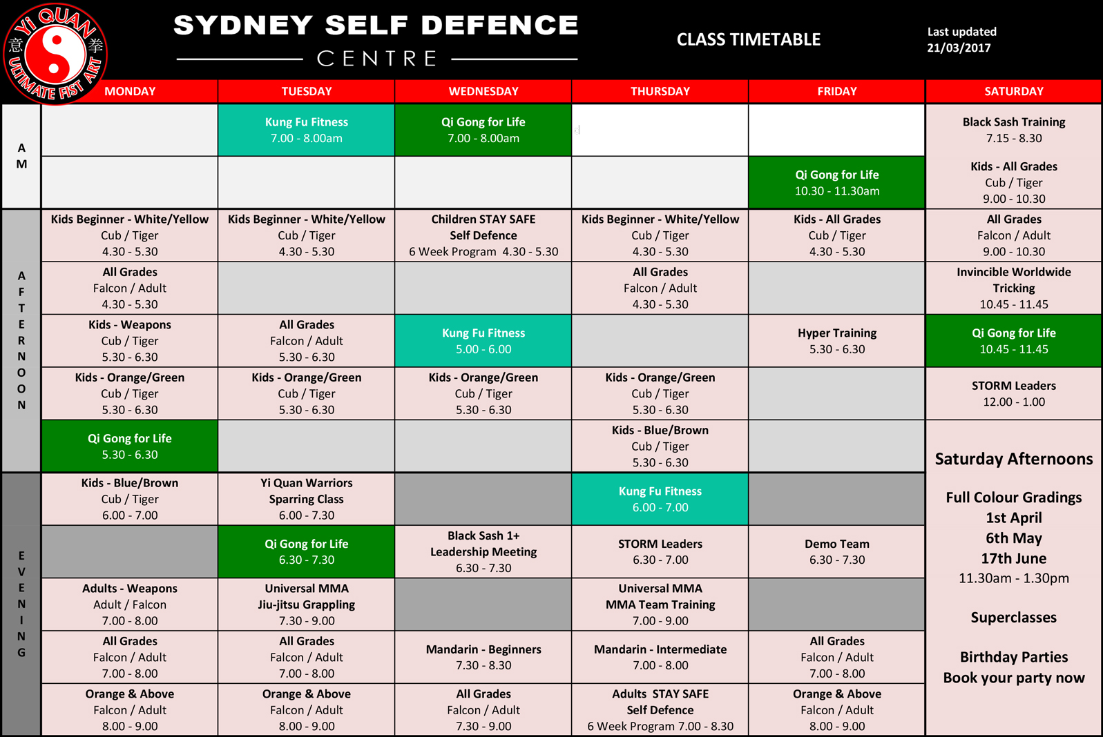 Timetable_Fitness