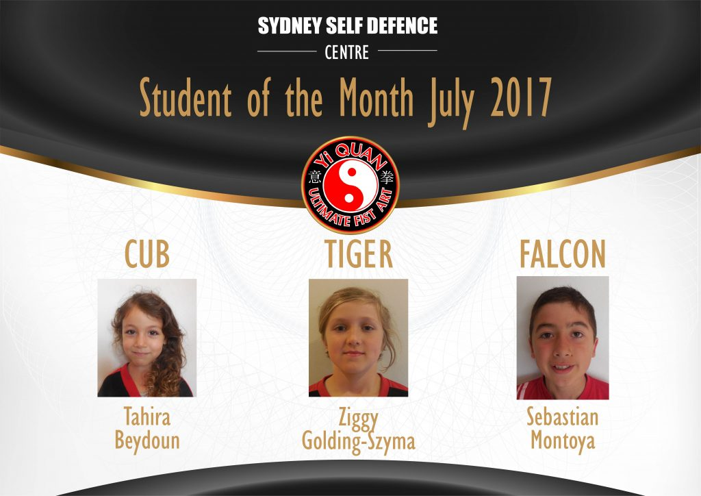 Student of the Month July
